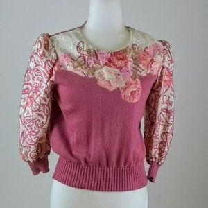 Anthony Sicari mauve sweater size 8